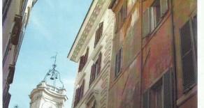 钟表广场的小楼